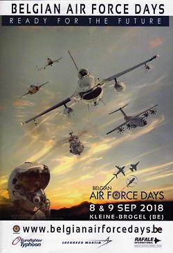 REVIEW: Belgian Air Force Days 2018, Kleine Brogel | UK