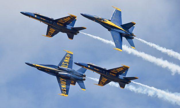 AIRSHOW NEWS: US Navy Blue Angels Display Schedule 2021