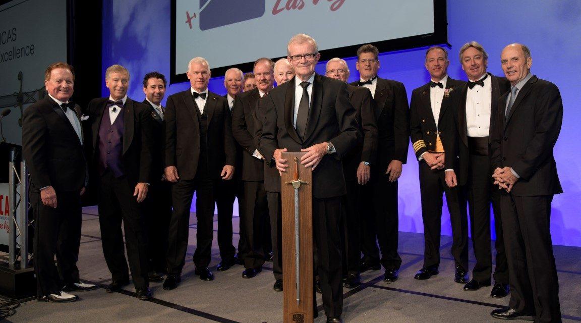 AIRSHOW NEWS: ICAS' prestigious Sword of Excellence for Gilbert Buekenberghs