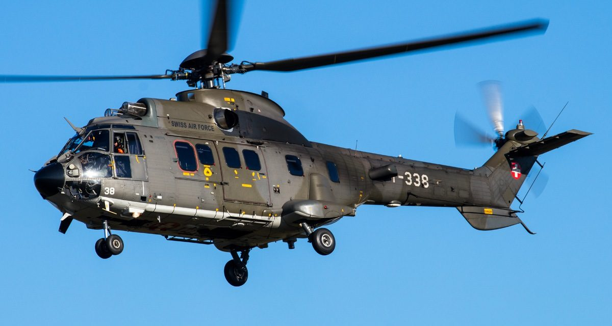 AIRSHOW NEWS: Swiss Air Force Super Puma Display Team Schedule 2019