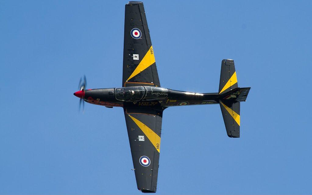 AIRSHOW NEWS: Royal Air Force Shorts Tucano T1 Display Dates 2019