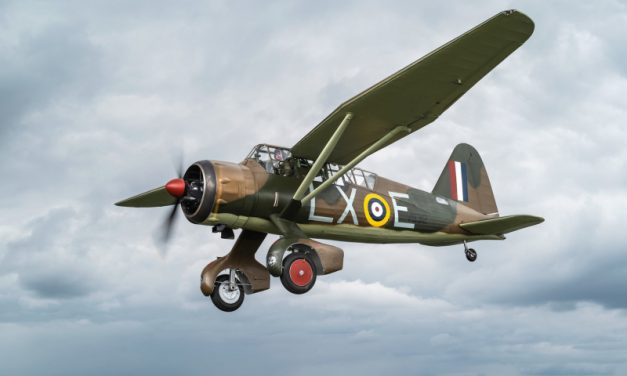 AIRSHOW NEWS: First Aircraft to Land at Dunsfold Aerodrome Joins Wings & Wheels Line-up