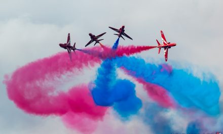AIRSHOW NEWS: Legendary Red Arrows to headline Duxford Summer Air Show this July with tickets on sale from today