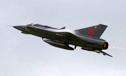 AIRSHOW NEWS: Bournemouth Air Festival announces line-up for 2019 – Star items include Swedish Air Force Historic Flight SAAB J35J Draken and Ultimate Fighters Team