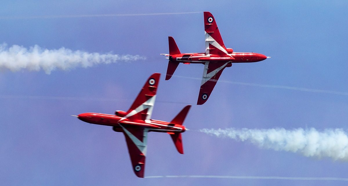 AIRSHOW NEWS: RAF Red Arrows Display Dates 2021 (Provisional)