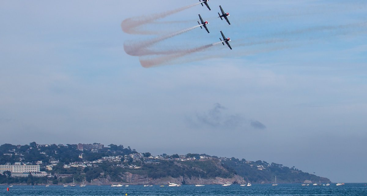 AIRSHOW NEWS: English Riviera Airshow to benefit from Torbay Council's new £750,000 events strategy