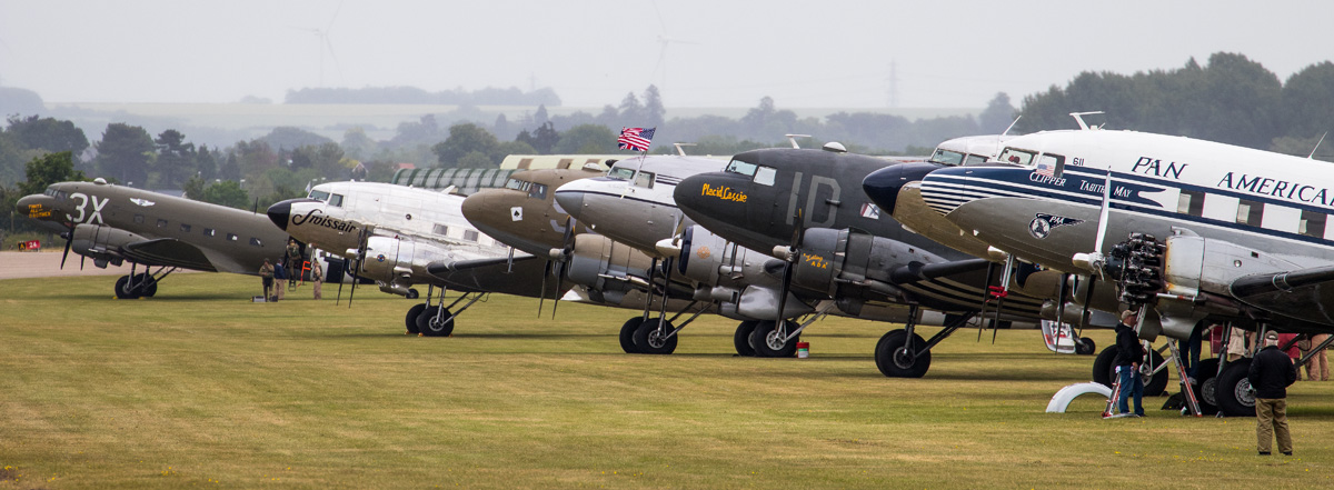 Daks over Duxford - Image © Paul Johnson/Flightline UK