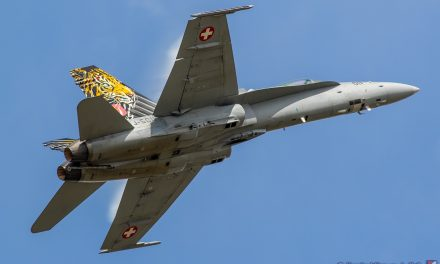 AIRSHOW NEWS: Swiss Air Force F/A-18C Hornet Solo Display Dates 2020