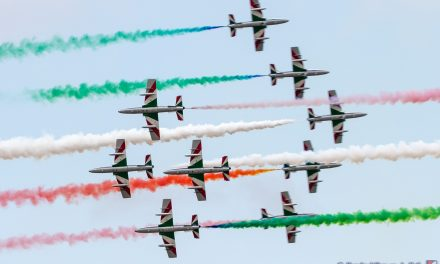 AIRSHOW NEWS: Il Frecce Tricolori Display Dates 2020