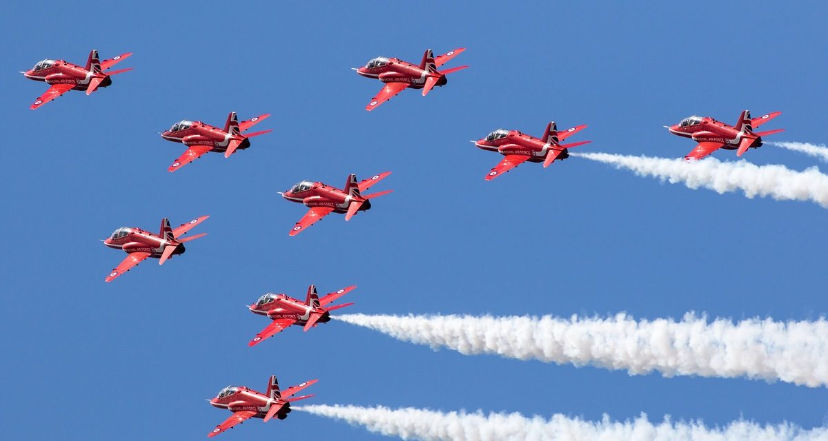 AIRSHOW NEWS: Training update for the Red Arrows