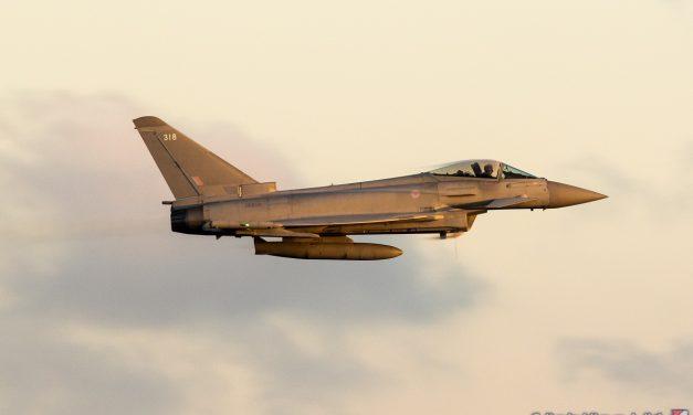 AIRSHOW NEWS: Royal Air Force Typhoon Display Team Schedule 2021