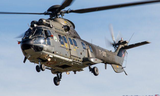 AIRSHOW NEWS: Provisional Swiss Air Force Super Puma Display Team Dates 2021