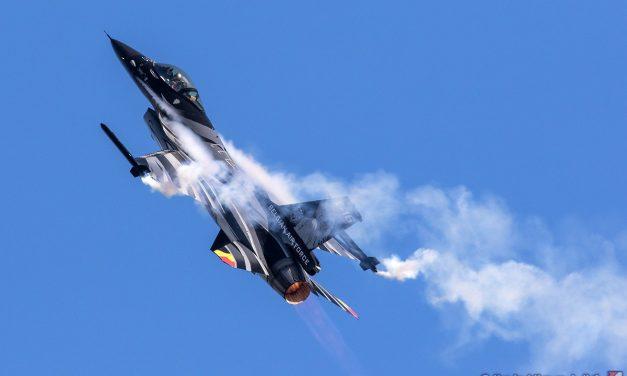 AIRSHOW NEWS: Belgian Air Force F-16 Solo Display 2021 Calendar (Provisional)