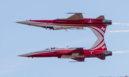AIRSHOW NEWS: Patrouille Suisse Display Dates 2020
