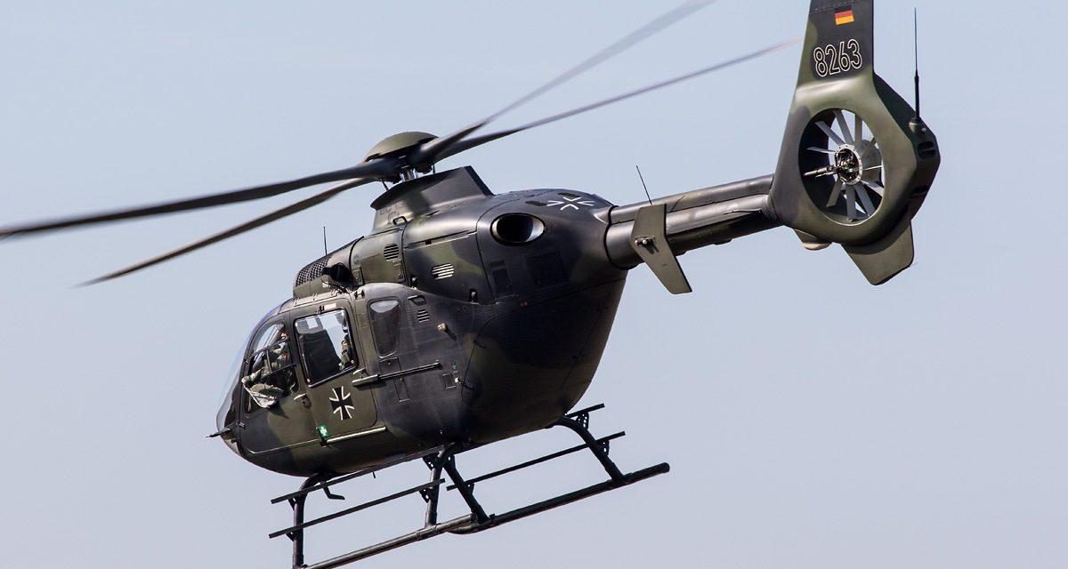 AIRSHOW NEWS: German Army Aviation EC-135 Displays 2020