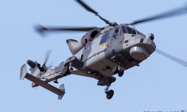 AIRSHOW NEWS: Introducing the Royal Navy Wildcat Demo Team