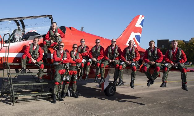 AIRSHOW NEWS: Red Arrows return home from huge North American Tour