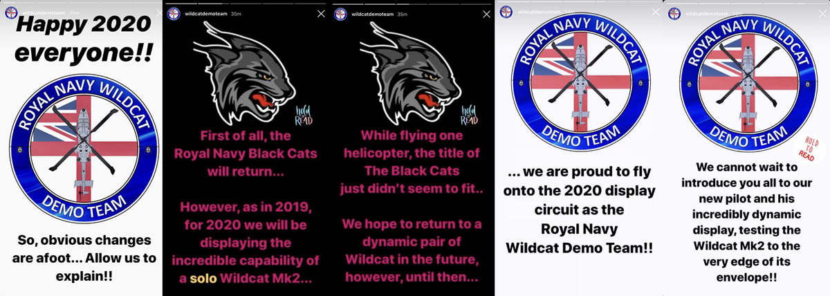 Wildcat Demo Team Insta