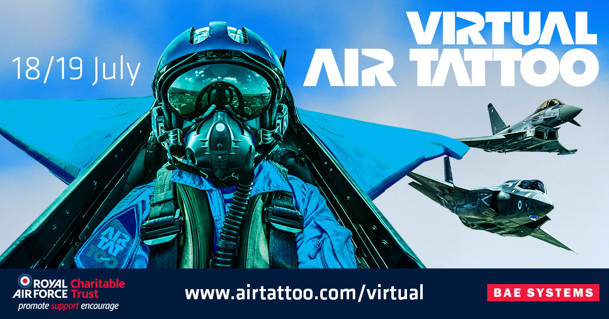 AIRSHOW NEWS: Virtual Air Tattoo Launches for Aviation Fans