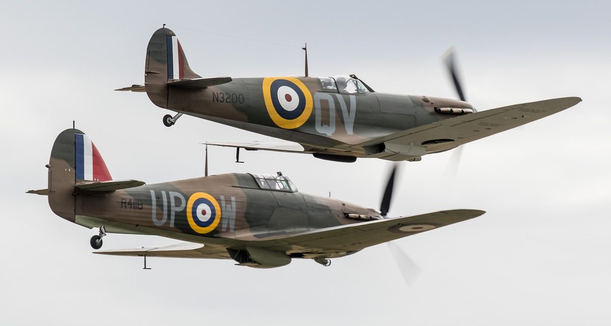 AIRSHOW NEWS: See Spitfires and Hurricanes take to the skies in tribute to The Few at final Showcase Day of the season at IWM Duxford