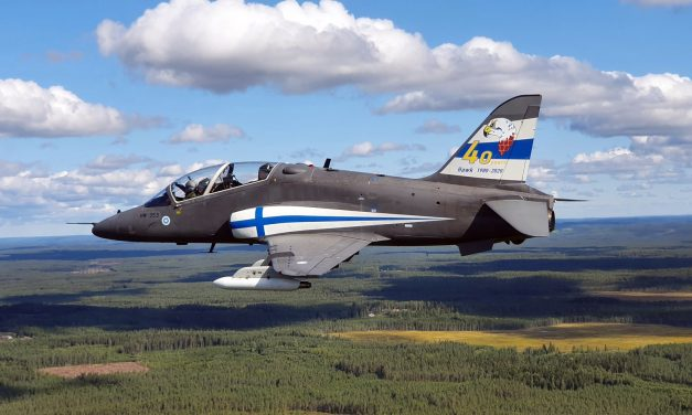 AIRSHOW NEWS: The Midnight Hawks celebrate the 40th anniversary of the Finnish Air Force Hawk fleet