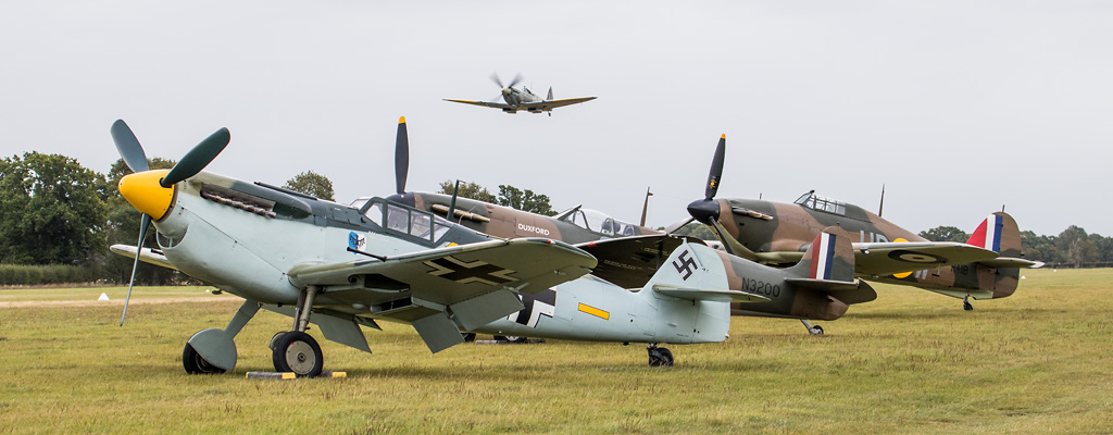 Aero Legends Battle of Britain Airshow, Headcorn - Image © Paul Johnson/Flightline UK