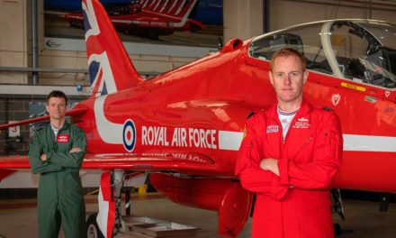 AIRSHOW NEWS: Red Arrows and Breitling fly-in to support the Aerobility Grand Auction