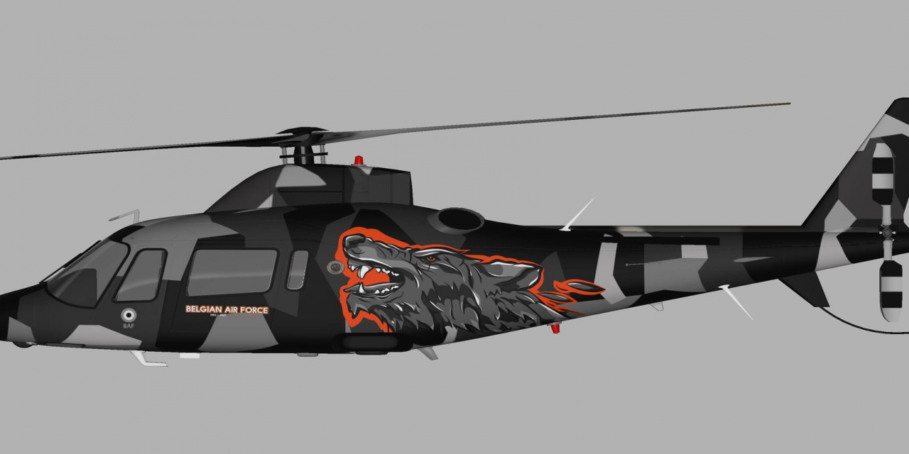 AIRSHOW NEWS: Belgian Air Force A109 Display Team unviels new display scheme for the 2021 season