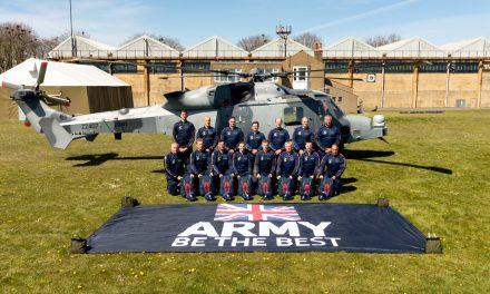 AIRSHOW NEWS: Lightning Bolts Army Parachute Display Team work up at Netheravon
