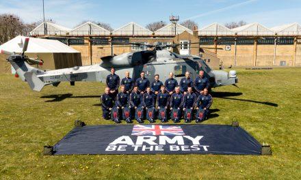 AIRSHOW NEWS: Lightning Bolts Army Parachute Display Team work up at Netheravon