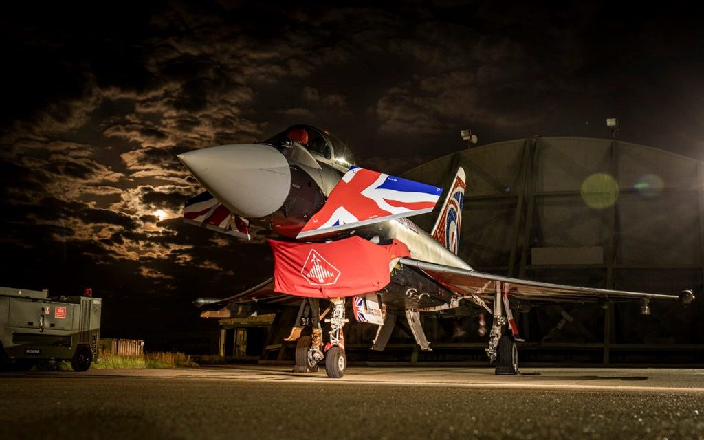AIRSHOW NEWS: New 'Union Jack' colour scheme for the RAF Typhoon Display Team
