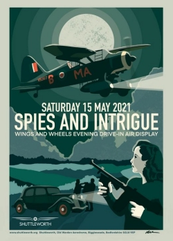 Shuttleworth Collection Spies and Intrigue Evening Airshow