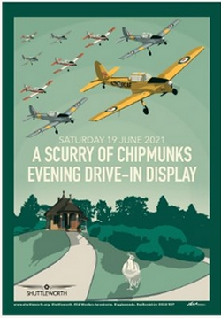 Shuttleworth Collection Scurry of Chipmunks Evening Airshow