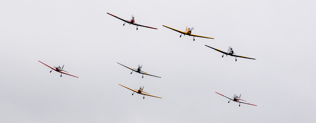 REVIEW: Shuttleworth 'Scurry of Chipmunks' Evening Drive-in Airshow