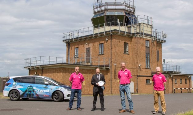 AIRSHOW NEWS: Air Tattoo Air Traffickers Scoop Top Trophy
